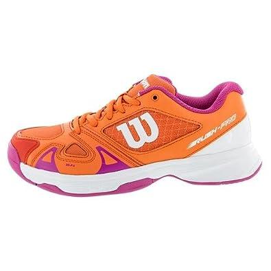 Wilson Wrs322500e050, Chaussures de Tennis Enfants Unisex, Multicolore ( Multicolor / Nasturtium / White / Rose Violet), 38 1/3 EU: Amazon.fr:  Chaussures et ...