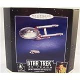 Star Trek Keepsake Ornaments Enterprise and Shuttle by Hallmark