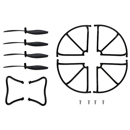 Holy Stone Spare Parts Drone Blades Propellers Blade Guard Landing Grear for F181C F181W RC Quadcopter Accessories by Holy Stone