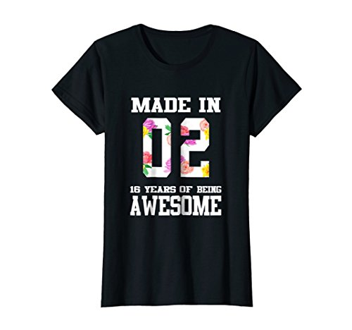 Womens Sweet Sixteen Birthday Shirt for Teenager Girls for $<!--$16.95-->