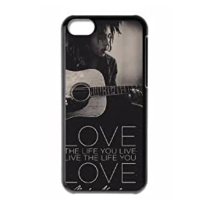 YUAHS(TM) New Cell Phone Case for Iphone 5C with Bob Marley YAS137658
