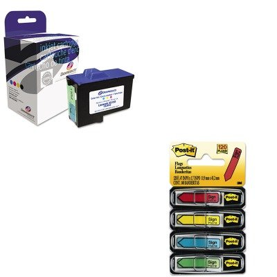 Dpcd7y745c Compatible Ink (KITDPSDPCD7Y745CMMM684SH - Value Kit - Dataproducts DPCD7Y745C Compatible Remanufactured Ink (DPSDPCD7Y745C) and Post-it Arrow Message 1/2amp;quot; Flags (MMM684SH))