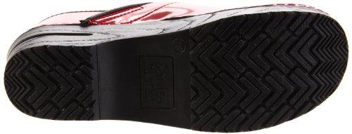 motifs Femme 457406w Chaussures Rouge Sanita 4 Closed Prof Patent 7BvUgB