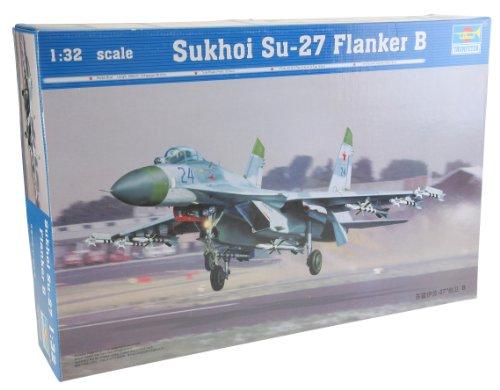 Su 27 Russian Air (Trumpeter 1/32 Sukhoi Su27 Flanker B Fighter)