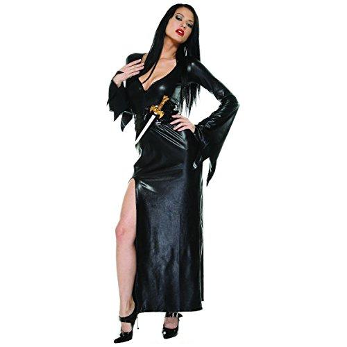 [Mistress of Midnight Costume - XS/Small - Dress Size 0-2] (Womens Masquerade Costume Countess)