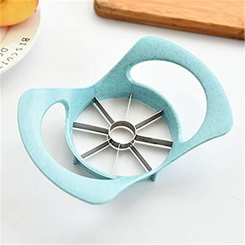 Apple Slicer Divider Cutter Wedge Ergonomic Plastic Handle Healthy Diet Soft Grip Slicer Stainless Steel Blade Kitchen Gadget Any Drawer -