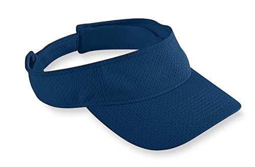 Augusta Sportswear Athletic Mesh Visor, One Size, Navy