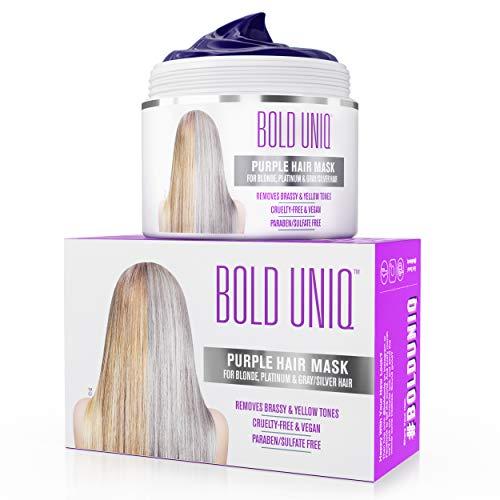 Purple Hair Mask For Blonde Platinum & Silver Hair