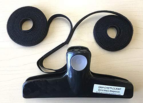 Quilters パラダイス グリップライト ロングアーム - ミッドアームサイドクランプ - デュアルアタッチ。   B07GC6LXKT