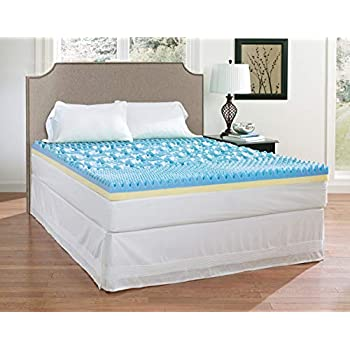 Amazon Com Broyhill Dual Layer Cooling Gel Memory Foam