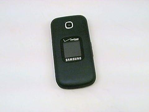 Samsung Gusto 3 Verizon CDMA Page Plus No Contract Flip Cell Phone - Midnight Blue (Verizon Camera Phones)