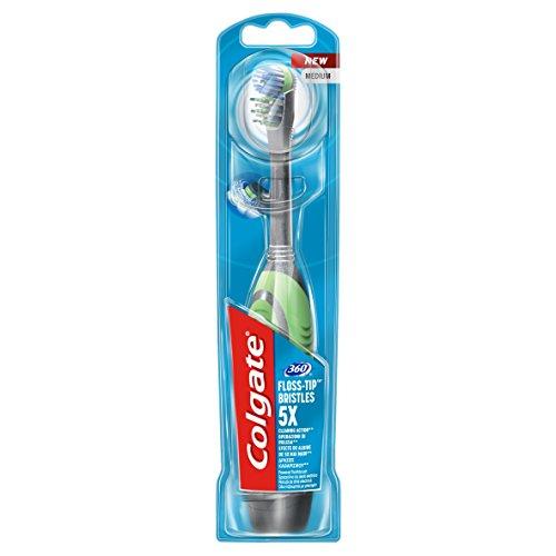 Colgate - 360° - cepillo de dientes a pilas: Amazon.es: Salud y cuidado personal