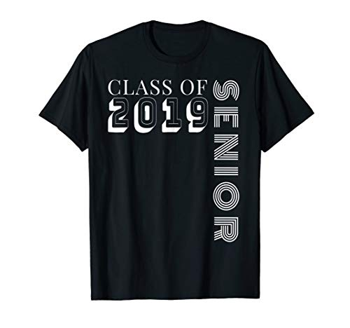 Class of 2019 Senior TShirt - High School Graduation -
