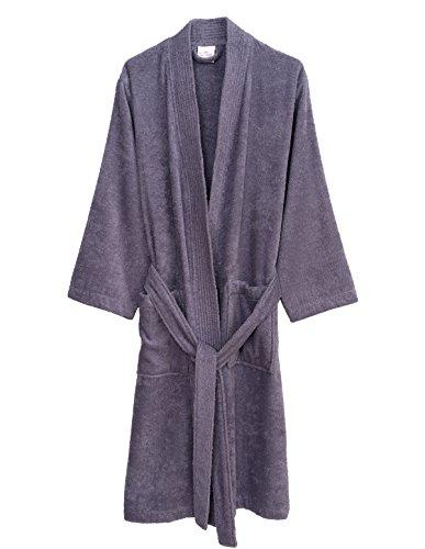 Believe Bath (TowelSelections Men's Robe, Turkish Cotton Terry Kimono Bathrobe X-Small/Small Daybreak)