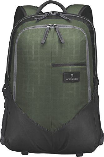 Deluxe 3 Black Panel - Victorinox Altmont 3.0 Deluxe Laptop Backpack, Green/Black