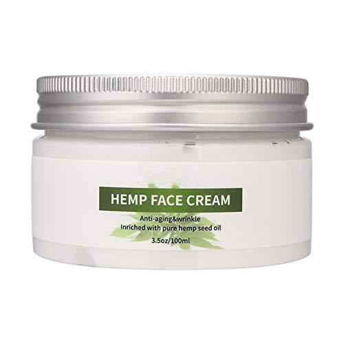 100g Hemp Seed Oil Face Cream, Anti-Aging Wrinkle...