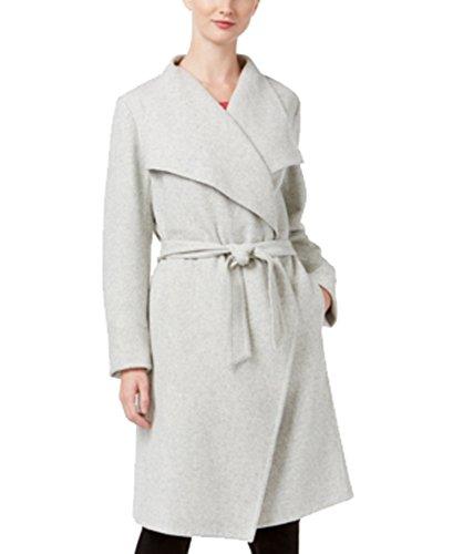 Alfani Wrap Coat (Gray, L) (Alfani Coat)