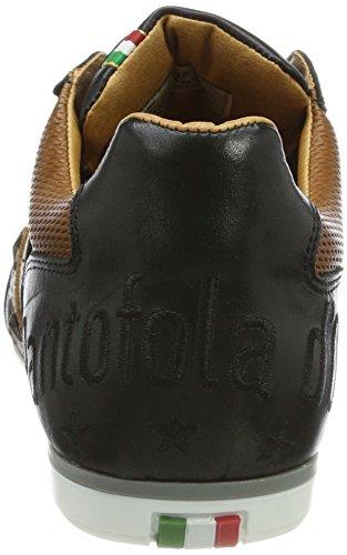 Low para Zapatillas Hombre Schwarz Pantofola Uomo D'oro Funky Imola Black wZZqYAI