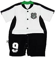 Macacão Curto Times de futebol, Rêve D'or Sport, Bebê Uni