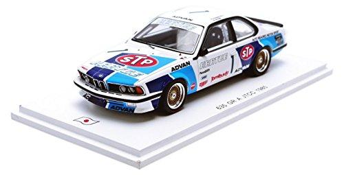 【Spark】1/43 BMW 635 CSi `STP` No.1 3rd Intertec 1985 K. Mogi - N. Nagasaka