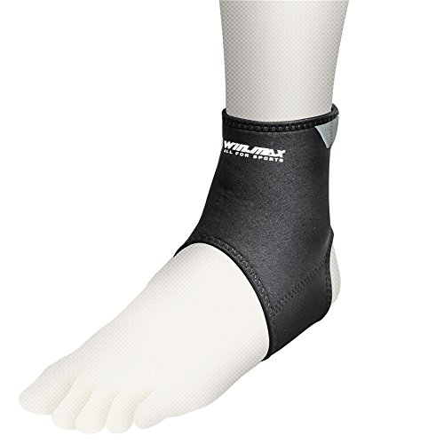 ANKLE SUPPORT NEOPRENE BLEND BLACK - 8