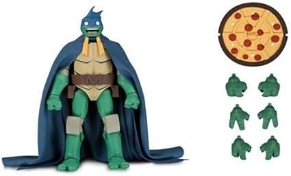 Amazon Com Sdcc 2019 Dc Tmnt Michelangelo As Batman Action Figure Standard Toys Games