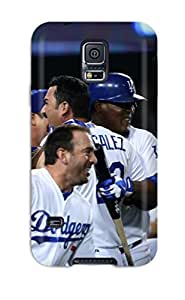 los angeles dodgers MLB Sports & Colleges best Samsung Galaxy S5 cases