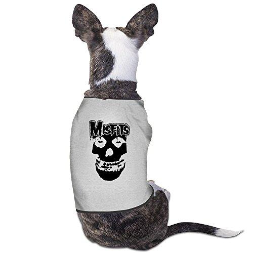 Skateboard Costume Punk (Misfits Punk Rock Band Dog Costumes Cozy)