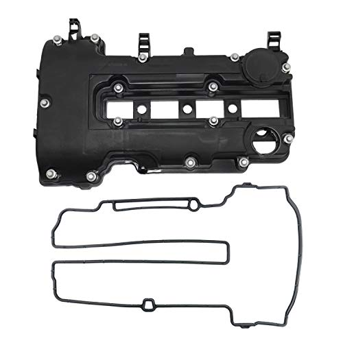 Camshaft Valve Cover For Chevy Cruze Sonic Trax Volt 1.4L Buick Encore Cadillac ELR Model Years 2011-2016 OEM# 25198874 55573746 with Gasket Bolt