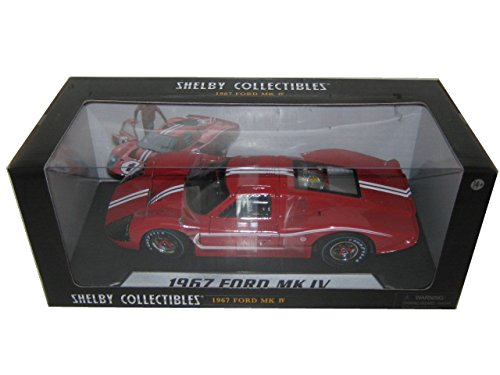 1967 Ford GT MK IV rot 1 18 by Shelby Collectibles SC420