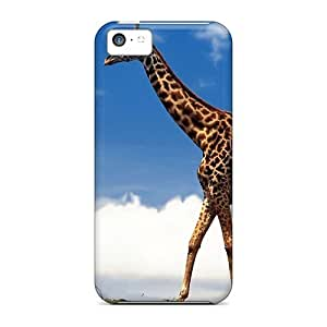 For Iphone 5c Fashion Design Giraffe Case-JaglYbt979oFxgG