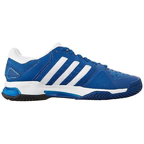 adidas barricata club uomini scarpe da tennis blu / bianco, 50%