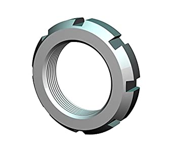 Whittet-Higgins PN-19 Precision Shaft /& Bearing Locknut Not Self-Locking Replaces SKF an 19 PRN-19, Standard AN19 UNS 3.730-12 Right-Hand Thread