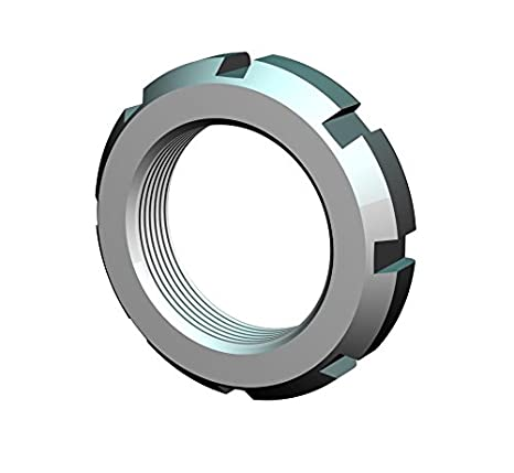 Not Self-Locking Whittet-Higgins PT-07 Precision Space-Saving Shaft /& Bearing Locknut Replaces Standard NTH-07 UNS 1.376-18 Right-Hand Thread PRT-07,
