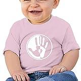 EIE8RE Toddler Kids Boys Girls T-Shirt Classic Antifa Hand Printing Short Sleeve