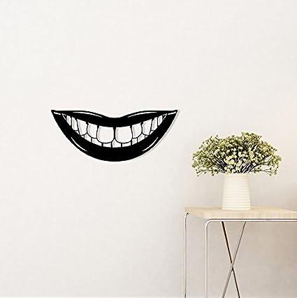 Amazon.com: Metal Wall Art Dental Smiley Mouth Design/Lips/Teeth ...