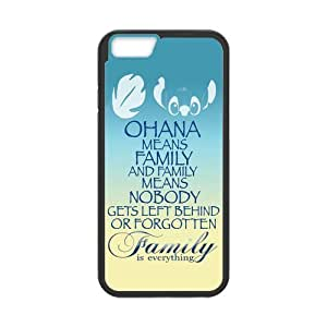 iPhone 6 Protective Case -Family is Everything Quote OHANA Hardshell Cell Phone Cover Case for New iPhone 6