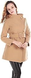 Amazon.com: Beige - Wool &amp Blends / Wool &amp Pea Coats: Clothing