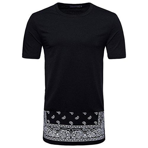 Ecru Folder (SPE969 Top Blouse Short Sleeve Printed Fashion Men's Casual SlimT Shirt)