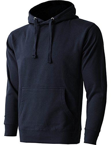 Hat and Beyond HC Mens Pullover Hoodie Sweatshirts Heavyweight Fleece Active Casual Pocket Jackets
