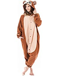 Monkey Animal Onesie - Soft and Comfortable With Pockets! Fun As a Costume or Pajamas - For Men Women Teens Adults! 5% Of Sales Donated To San Diego Zoo Global Wildlife conservancy