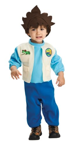 Nickelodeon Toddler Go Diego Go Romper And Headpiece Diego, Diego Print - Diego Baby Costumes