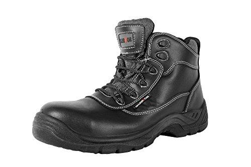 Warrior Workwear 0118mmb38/6nichtmetallischen Sicherheit Boot, Größe 6, Schwarz