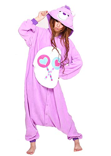 Share Bear Onesie for Adult and Teenagers. Halloween Animal Kigurumi Pajama Costume for Men and Women ()