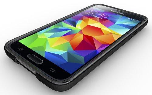 best website aa894 15b95 Galaxy S5 Case, Diztronic Matte Back Flexible TPU Case [Rev. 2] for ...