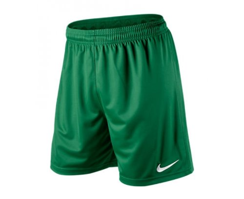 Nike Park Knit Short Boy's Football Shorts Without Briefs green Size: M