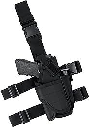 IronSeals Tactical Drop Leg Holster, Adjustable Gun Holster Thigh Pistol Holster