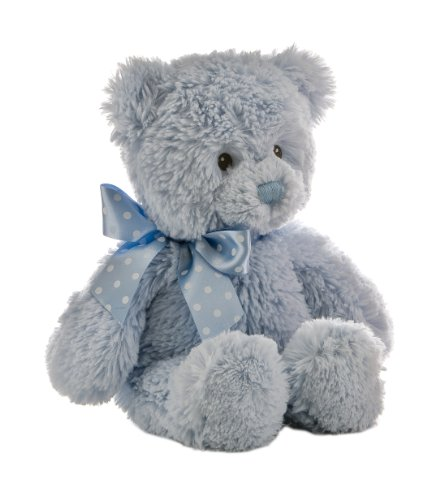 Blue Stuffed Bear - Plush Baby 12
