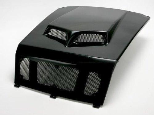 (2009 Polaris Ranger RZR 800 S Custom Hood Scoop - Black, Manufacturer: Maier Mfg, RZR SCOOPED HOOD BLK)
