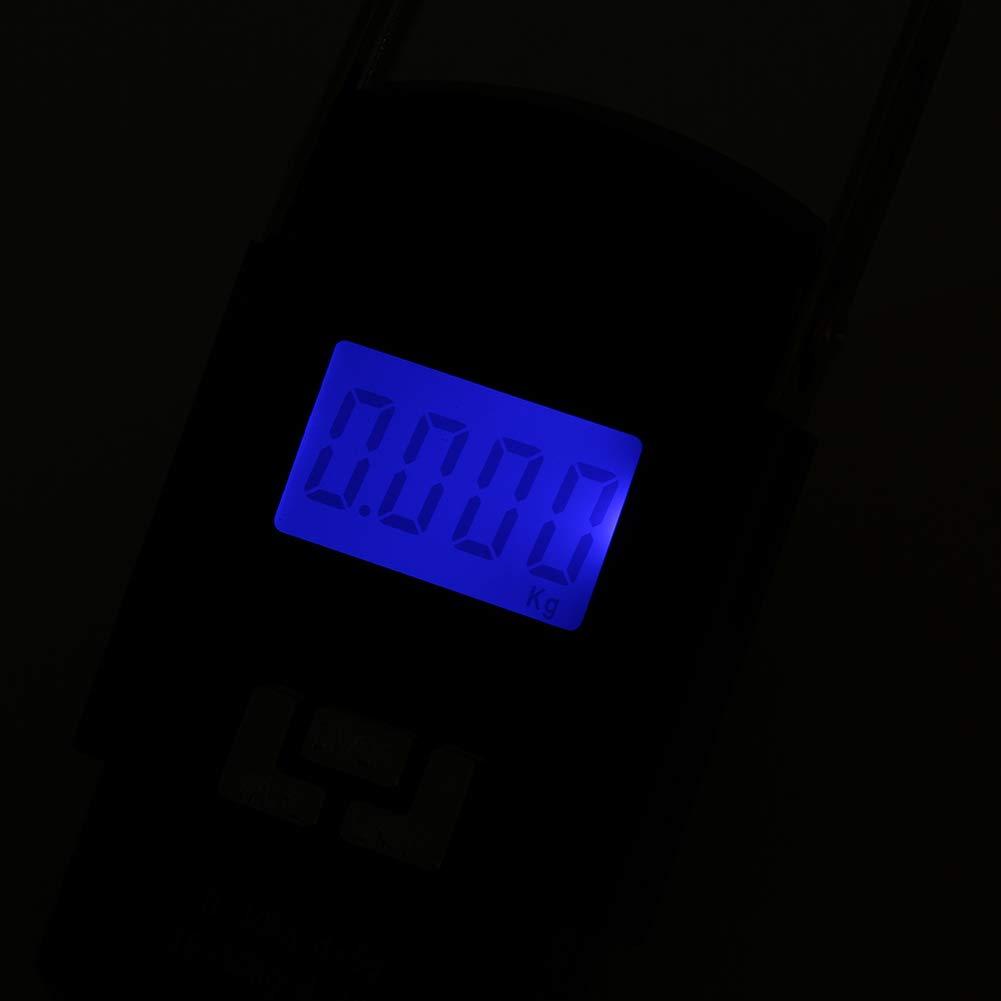 10 g Noir Man9Han1Qxi Balance /électronique Portable pour Bagages de 50 kg
